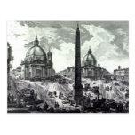 Della Piazza del Popolo, c.1750 de Veduta Tarjetas Postales