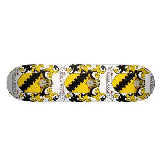 Della Rocca Family Crest Skate Board