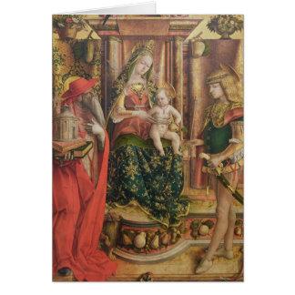 Della Rondine de Madonna del La, después de 1490 Tarjeta De Felicitación