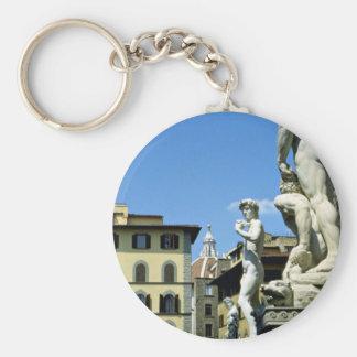 Della Signoria Florencia Italia de la plaza Llaveros