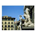 Della Signoria, Florencia, Italia de la plaza Tarjetas Postales