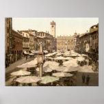 Delle Erbe, Verona, Italia de Piazzi Posters