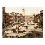 Delle Erbe, Verona, Italia de Piazzi Tarjetas Postales