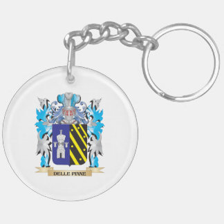 Delle-Piane Coat of Arms - Family Crest Acrylic Key Chain