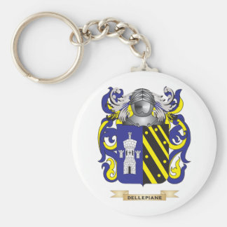 Delle Piane Coat of Arms Keychains