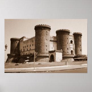 dell'Ovo de Castel Póster