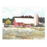 Dells Barn Postcard