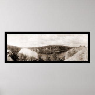 Dells de la foto 1911 de Wisconsin Póster