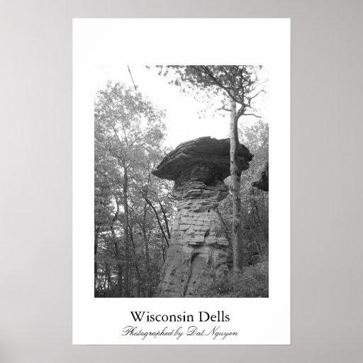 Dells de Wisconsin Póster