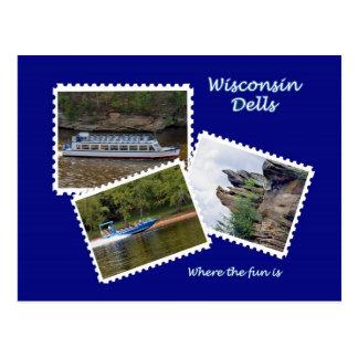Dells de Wisconsin Postales