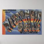 Dells de Wisconsin, Wisconsin - escenas grandes de Posters