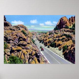 Dells del granito de Arizona del Prescott Impresiones