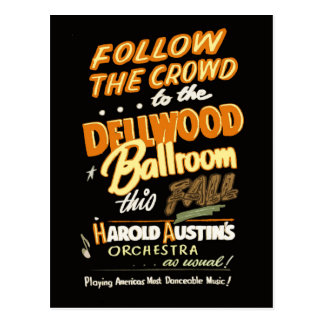 Dellwood Ballroom Postcard