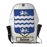 Delmar Family Crest Courier Bags