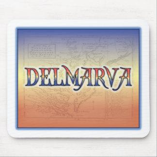 DelMarVa Antique Map Mouse Pad