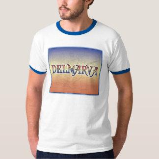 DelMarVa Antique Map T-Shirt
