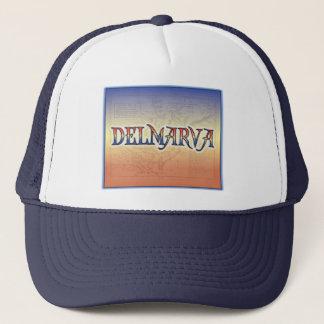 DelMarVa Antique Map Trucker Hat