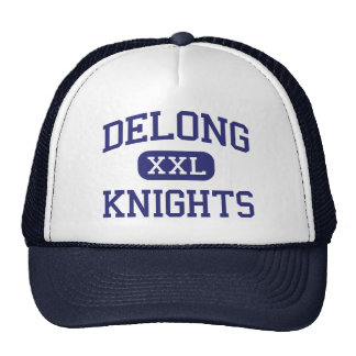 Delong Knights Middle Eau Claire Wisconsin Trucker Hat