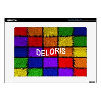 "DELORIS DECALS FOR 15"" LAPTOPS"