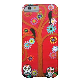 Delos Muertos del diámetro de Talavera Funda Barely There iPhone 6