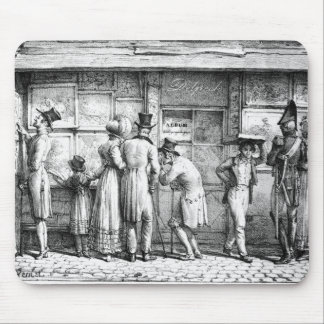 Delpech's Lithographic Print Shop, c.1818 Mouse Pad