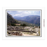 Delphi Archaeological Site Post Card
