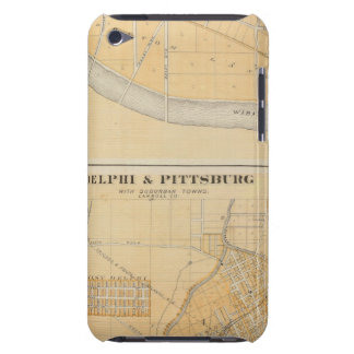 Delphi & Pittsburg with suburban towns Barely There iPod Cover