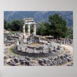 Delphi - ruinas del Griego Impresiones