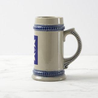 """""""Delphi"""" Stein azul Jarra De Cerveza"""