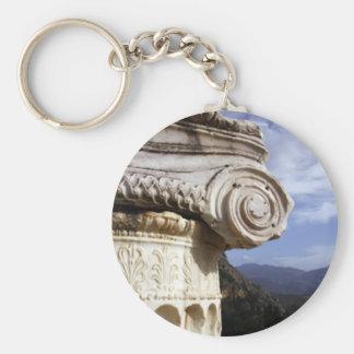 Delphi Temple Keychain