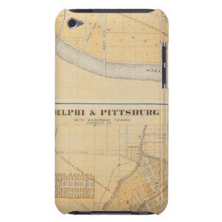 Delphi y Pittsburg con las ciudades suburbanas Case-Mate iPod Touch Fundas