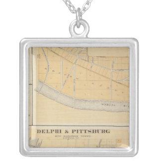 Delphi y Pittsburg con las ciudades suburbanas Colgante Cuadrado