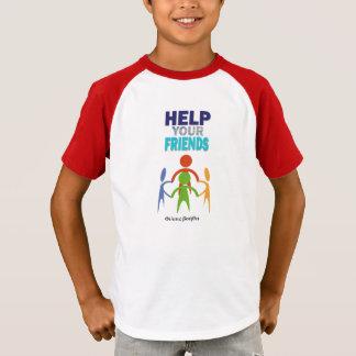 Delphic Maxim HELP YOUR FRIENDS T-Shirt