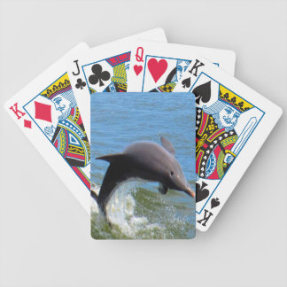 Delphine Playing Bicycle Playing Cards