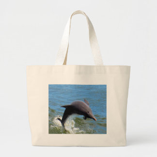 Delphine Playing Large Tote Bag