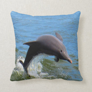 Delphine Playing Throw Pillow