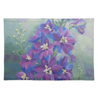 Delphinium de 0429 púrpuras mantel