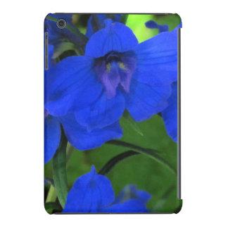 Delphinium del azul de Brilliiant Funda De iPad Mini