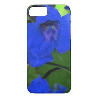 Delphinium del azul de Brilliiant Funda iPhone 7