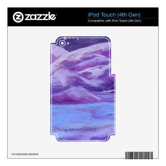 Delphinium iPod Touch 4G Skin