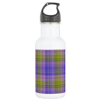 Delphinium Plaid Water Bottle