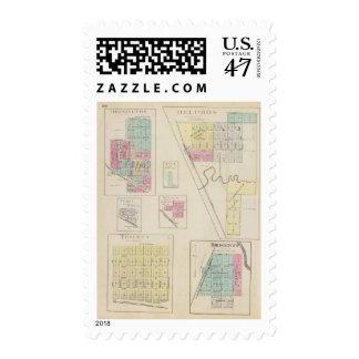 Delphos, Bennington, Ada, Verdi, Niles, Kansas Postage