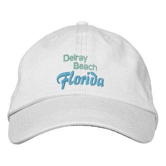 DELRAY BEACH 1 cap Embroidered Baseball Cap