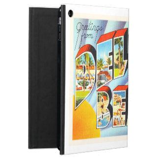 Delray Beach Florida FL Vintage Travel Souvenir iPad Air Cover