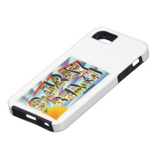 Delray Beach Florida FL Vintage Travel Souvenir iPhone SE/5/5s Case