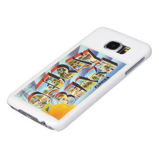 Delray Beach Florida FL Vintage Travel Souvenir Samsung Galaxy S6 Case