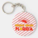 Delray Beach, Florida Key Chain