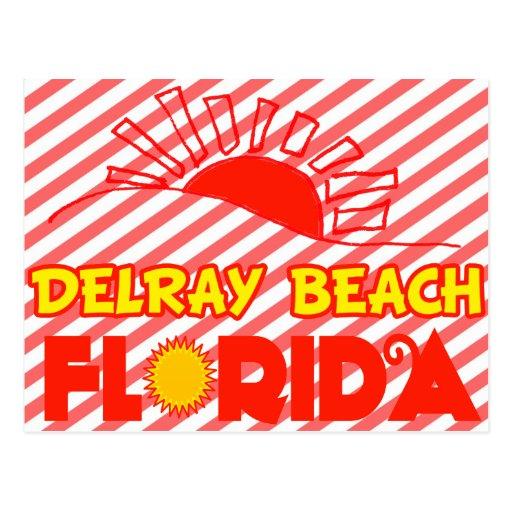 Delray Beach, Florida Post Cards