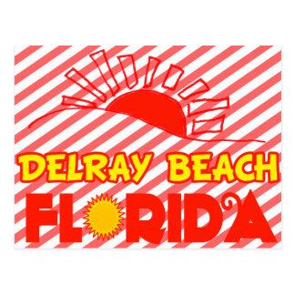 Delray Beach, Florida Postcard