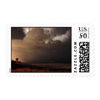 Delray Beach Lightning postage stamp